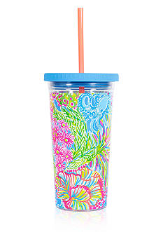 Lilly Pulitzer® Tumbler with Straw