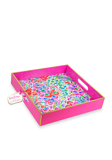 Lilly Pulitzer Lacquer Tray Belk