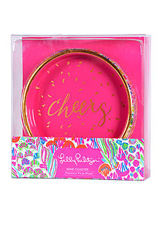 Lilly Pulitzer Wine Coaster