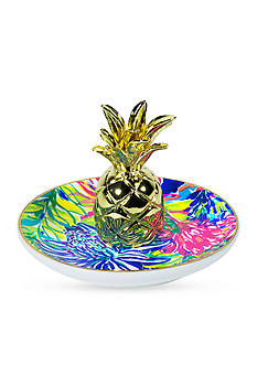 Lilly Pulitzer Pineapple Ring Holder