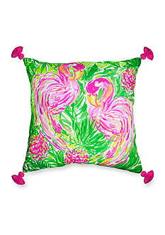 Lilly Pulitzer X-Large Flamingo Pillow