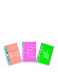 Lilly Pulitzer Notebook- 3 Set Prints