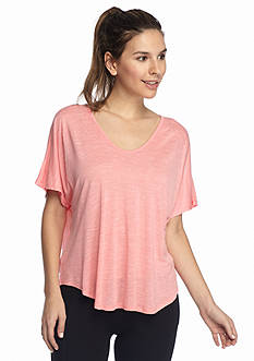 Calvin Klein Performance T-Back Short Sleeve Top