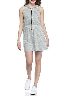 Inspired Hearts Track Dress With Mesh