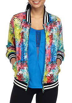 Inspired Hearts Tropical Track Jacket
