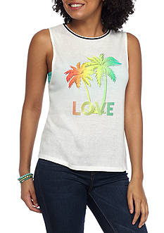Inspired Hearts Muscle Tank Love Screen