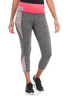 Charmed Hearts Yoga Pant With Print Paneling