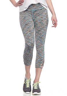 Inspired Hearts All Over Printed Legging with Lace Up Hem