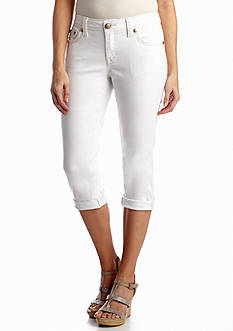 New Directions® Weekend Fashion Colored Denim Capri