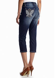 New Directions® Weekend Embellished Wing Pocket Capri