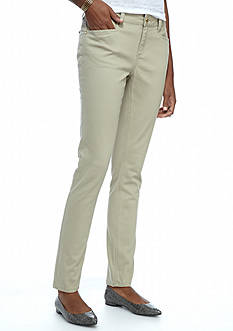 New Directions Weekend Colored Twill Pants