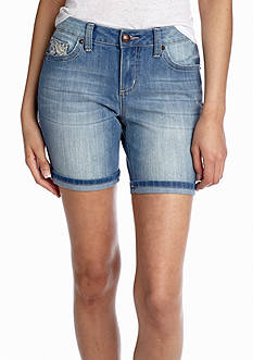 New Directions® Lace Pocket Short