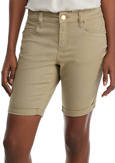 New Directions Weekend Twill Shorts