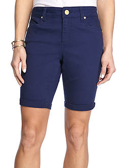 New Directions® Weekend Twill Shorts