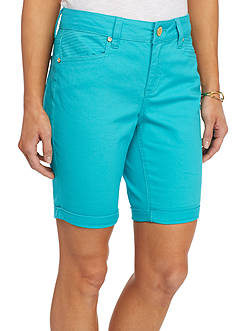 New Directions Weekend 9-in. Twill Shorts