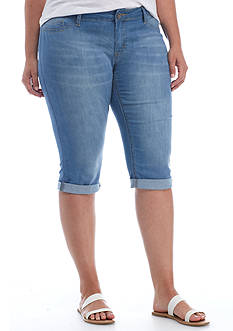 New Directions® Weekend Plus Size Denim Skimmers