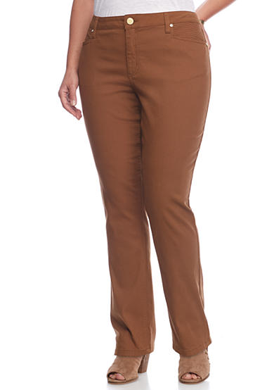 New Directions® Weekend Plus Twill Pants