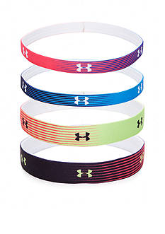 Under Armour Womens Mini Graphic Elastic Headbands