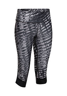 Under Armour® Women's Printed Fly-By Compression Capris