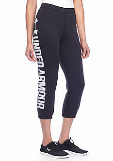 Under Armour® Women's Favorite Fleece Capri