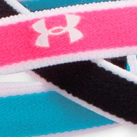 Hair Accessories For Women: Black Multi Under Armour Women's Mini Headbands