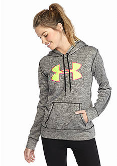 Under Armour® Women's Armour Fleece Big Logo Twist Hoodie
