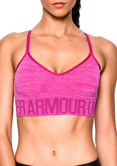 Under Armour® Seamless Streaky Heather Sports Bra