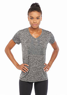 Under Armour Women's Tech V-Neck Twist Logo Tee