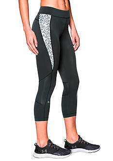 Under Armour® Women's HeatGear® Armour Printed Capris