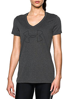 Under Armour Tech V Neck Branded Tee