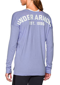 Under Armour Favorite Scoop Neck Tee