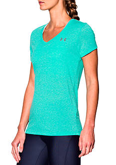 Under Armour Threadborne Short Sleeve V-Neck Top