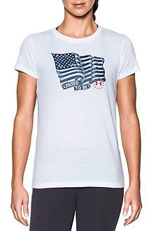 Under Armour American Flag Tee