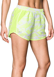 Under Armour Printed Fly By Shorts