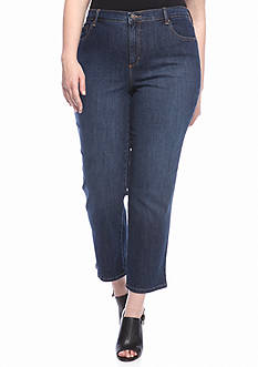 Gloria Vanderbilt Plus Size Amanda 5 Pocket Jeans (Short & Average Inseams)