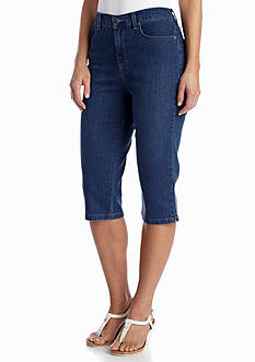 Gloria Vanderbilt Amanda Back Flap Denim Skimmer