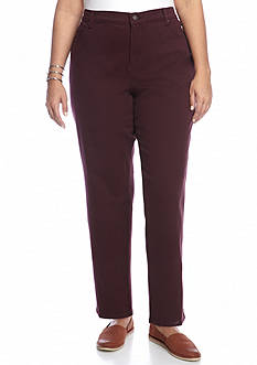 Gloria Vanderbilt Amanda Fashion Short Colored Denim Pants