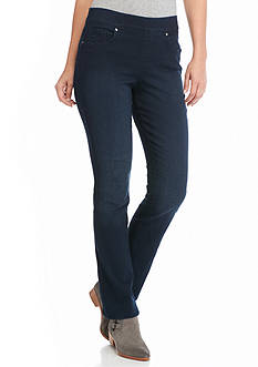 Gloria Vanderbilt Avery Pull-On Straight Leg Jean Pant