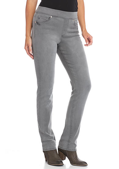 Gloria Vanderbilt Avery Pull-On Slim Pants