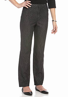 Gloria Vanderbilt Amanda Speckled Dot Jeans