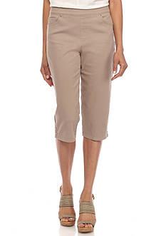 Gloria Vanderbilt Avery Skimmer Twill Short