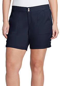 Gloria Vanderbilt Petite Size Maren Twill Shorts