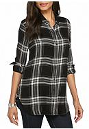 Cloth & Stone Halle Plaid Shirt