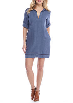 Cloth & Stone Pullover Shirt Dress