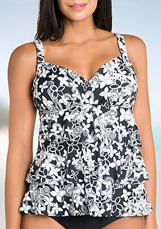 Shapesolver Curious Incident Triple Tier Tankini
