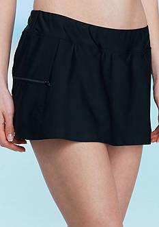 be inspired Skirtini Side Zip Pocket Swim Bottom