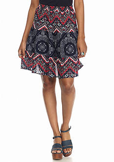 Stoosh Mixed Print Prairie Skirt