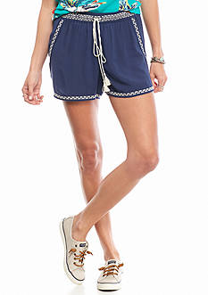 Chip & Pepper® CALIFORNIA Embroidered Soft Shorts