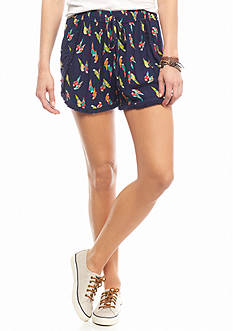 Chip & Pepper® CALIFORNIA Parrot Printed Soft Shorts