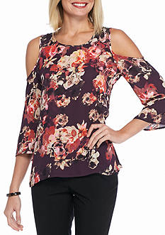 Spense Cold Shoulder Blouse